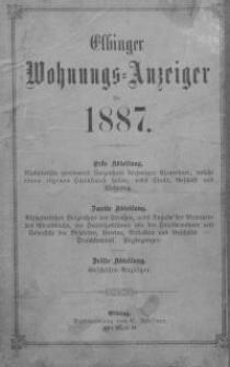 Elbinger Wohnungs-Anzeiger für 1887