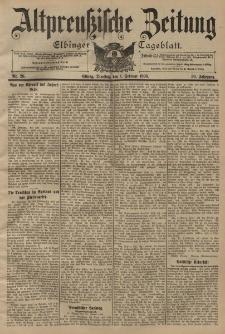 Altpreussische Zeitung, Nr. 26 Dienstag 1 Februar 1898, 50. Jahrgang