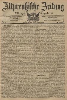 Altpreussische Zeitung, Nr. 27 Mittwoch 2 Januar 1898, 50. Jahrgang