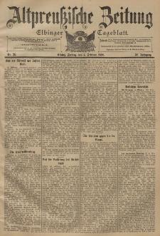 Altpreussische Zeitung, Nr. 29 Freitag 4 Februar 1898, 50. Jahrgang