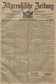 Altpreussische Zeitung, Nr. 33 Mittwoch 9 Februar 1898, 50. Jahrgang