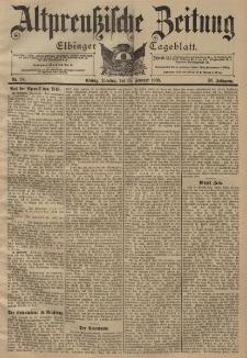 Altpreussische Zeitung, Nr. 38 Dienstag 15 Februar 1898, 50. Jahrgang