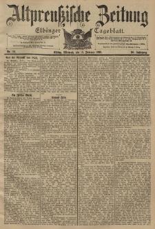 Altpreussische Zeitung, Nr. 39 Mittwoch 16 Februar 1898, 50. Jahrgang