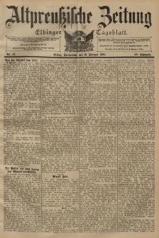 Altpreussische Zeitung, Nr. 42 Sonnabend 19 Februar 1898, 50. Jahrgang