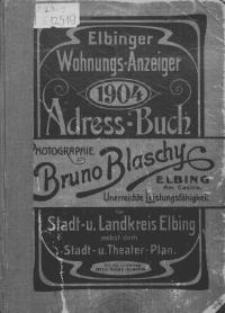 Elbinger Wohnungs-Anzeiger 1904
