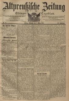 Altpreussische Zeitung, Nr. 51 Mittwoch 2 März 1898, 50. Jahrgang