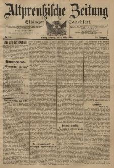 Altpreussische Zeitung, Nr. 55 Sonntag 6 März 1898, 50. Jahrgang