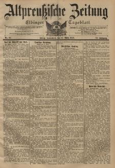 Altpreussische Zeitung, Nr. 60 Sonnabend 12 März 1898, 50. Jahrgang