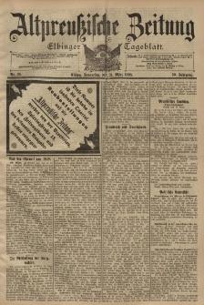 Altpreussische Zeitung, Nr. 76 Donnerstag 31 März 1898, 50. Jahrgang