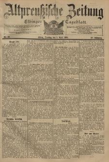 Altpreussische Zeitung, Nr. 80 Dienstag 5 April 1898, 50. Jahrgang