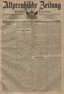 Altpreussische Zeitung, Nr. 103 Mittwoch 4 Mai 1898, 50. Jahrgang