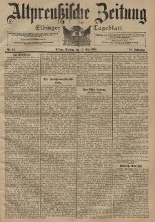 Altpreussische Zeitung, Nr. 111 Freitag 11 Mai 1898, 50. Jahrgang