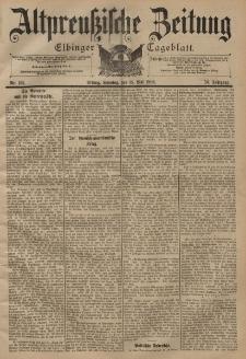 Altpreussische Zeitung, Nr. 113 Sonntag 15 Mai 1898, 50. Jahrgang