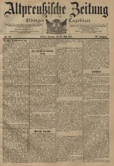 Altpreussische Zeitung, Nr. 118 Sonntag 22 Mai 1898, 50. Jahrgang