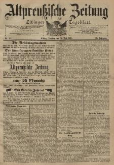 Altpreussische Zeitung, Nr. 119 Dienstag 24 Mai 1898, 50. Jahrgang
