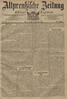 Altpreussische Zeitung, Nr. 133 Freitag 10 Juni 1898, 50. Jahrgang