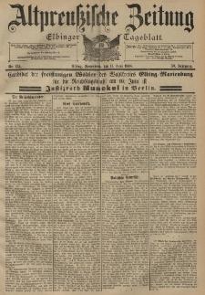 Altpreussische Zeitung, Nr. 134 Sonnabend 11 Juni 1898, 50. Jahrgang