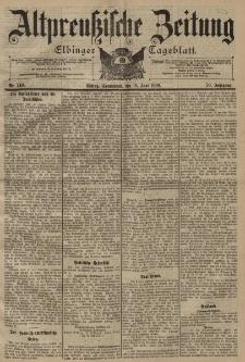 Altpreussische Zeitung, Nr. 140 Sonnabend 18 Juni 1898, 50. Jahrgang