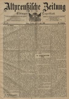 Altpreussische Zeitung, Nr. 148 Dienstag 28 Juni 1898, 50. Jahrgang