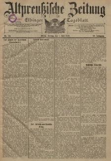 Altpreussische Zeitung, Nr. 151 Freitag 1 Juli 1898, 50. Jahrgang