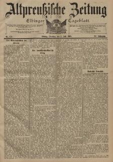 Altpreussische Zeitung, Nr. 154 Dienstag 5 Juli 1898, 50. Jahrgang