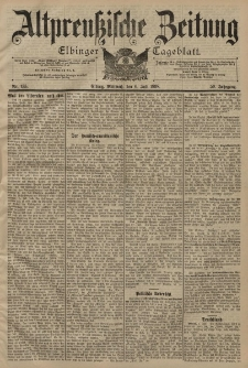 Altpreussische Zeitung, Nr. 155 Mittwoch 6 Juli 1898, 50. Jahrgang