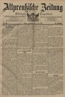 Altpreussische Zeitung, Nr. 156 Donnerstag 7 Juli 1898, 50. Jahrgang