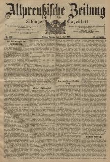 Altpreussische Zeitung, Nr. 157 Freitag 8 Juli 1898, 50. Jahrgang