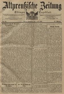 Altpreussische Zeitung, Nr. 158 Sonnabend 9 Juli 1898, 50. Jahrgang