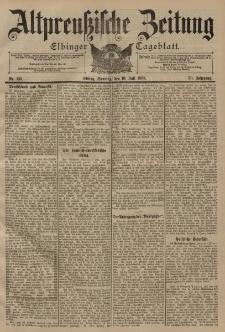 Altpreussische Zeitung, Nr. 159 Sonntag 10 Juli 1898, 50. Jahrgang