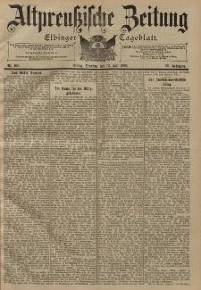 Altpreussische Zeitung, Nr. 160 Dienstag 12 Juli 1898, 50. Jahrgang