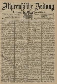 Altpreussische Zeitung, Nr. 161 Mittwoch 13 Juli 1898, 50. Jahrgang
