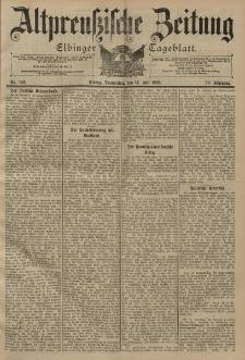 Altpreussische Zeitung, Nr. 162 Donnerstag 14 Juli 1898, 50. Jahrgang