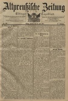 Altpreussische Zeitung, Nr. 163 Freitag 15 Juli 1898, 50. Jahrgang