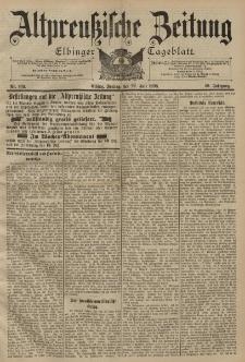 Altpreussische Zeitung, Nr. 169 Freitag 22 Juli 1898, 50. Jahrgang