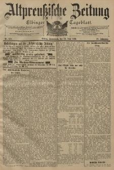 Altpreussische Zeitung, Nr. 170 Sonnabend 23 Juli 1898, 50. Jahrgang