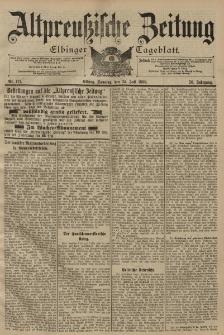 Altpreussische Zeitung, Nr. 171 Sonntag 24 Juli 1898, 50. Jahrgang