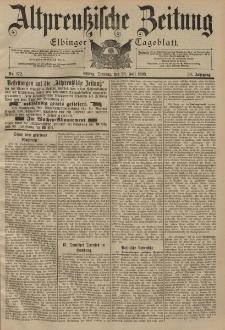Altpreussische Zeitung, Nr. 172 Dienstag 26 Juli 1898, 50. Jahrgang