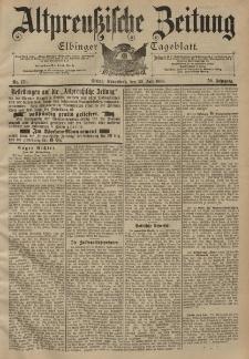 Altpreussische Zeitung, Nr. 176 Sonnabend 30 Juli 1898, 50. Jahrgang