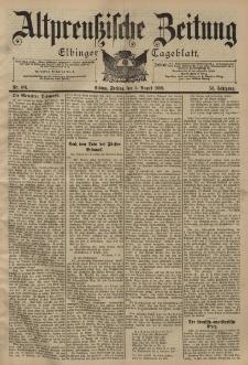 Altpreussische Zeitung, Nr. 181 Freitag 5 August 1898, 50. Jahrgang