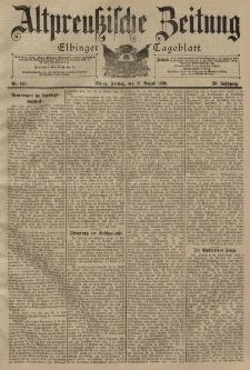 Altpreussische Zeitung, Nr. 193 Freitag 19 August 1898, 50. Jahrgang
