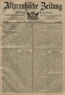 Altpreussische Zeitung, Nr. 207 Sonntag 4 September 1898, 50. Jahrgang
