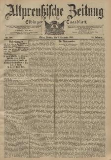 Altpreussische Zeitung, Nr. 208 Dienstag 6 September 1898, 50. Jahrgang