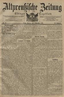Altpreussische Zeitung, Nr. 211 Freitag 9 September 1898, 50. Jahrgang