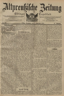 Altpreussische Zeitung, Nr. 212 Sonnabend 10 September 1898, 50. Jahrgang