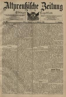 Altpreussische Zeitung, Nr. 215 Mittwoch 14 September 1898, 50. Jahrgang