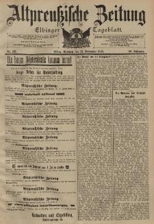 Altpreussische Zeitung, Nr. 221 Mittwoch 21 September 1898, 50. Jahrgang