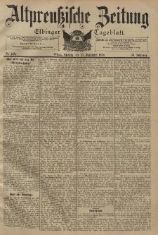 Altpreussische Zeitung, Nr. 226 Dienstag 27 September 1898, 50. Jahrgang