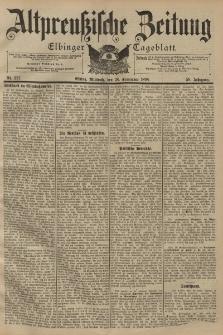 Altpreussische Zeitung, Nr. 227 Mittwoch 28 September 1898, 50. Jahrgang