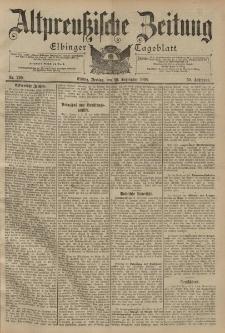 Altpreussische Zeitung, Nr. 229 Freitag 30 September 1898, 50. Jahrgang